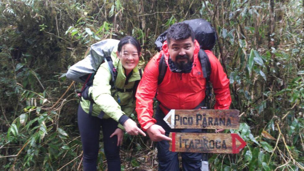 Bifurcação - Pico Paraná x Pico Itapiroca