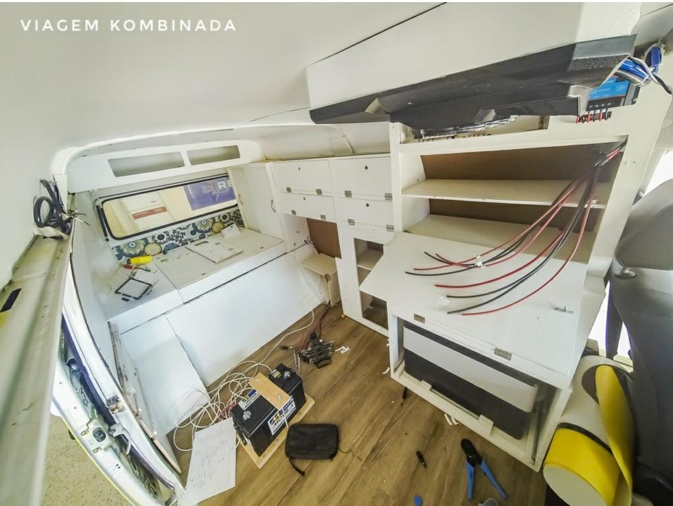 Processo de Instalação dos Circuitos Elétricos